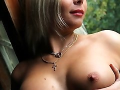 Horny nudism of the cute amateurs