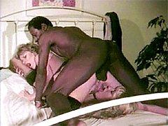 Interracial retro 3some