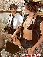 Two kinky seventies ladies
