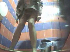 Movies from spy camera planted in ladies' room