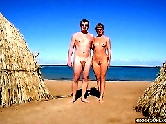 Welcome to the hottest nudists party of the year. Dozens of naked babes