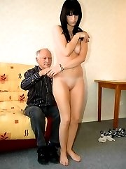 Head down - Bottom up - Time for some French Humiliation