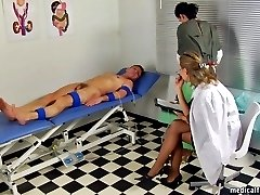 Shocking medical procedures at a femdom hospital