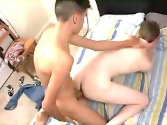 Young Couple Barebacking