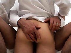 Fag dude teaching boy how to suck cock Elders Garrett