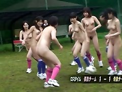 After a naked soccer game a blow-job is the finest