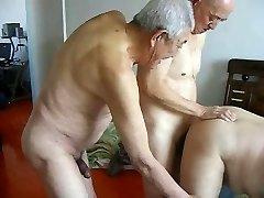 2 grandpas shag grandpa