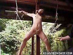 Japonés de la Servidumbre al aire libre (sin censura)