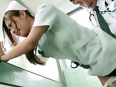 Horny Chinese girl Koi Aizawa in Fabulous Nurse JAV episode
