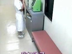 Sweet nurse creampied in spy cam medical video