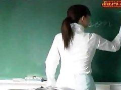 Caliente profesora de japonés