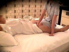 Spycam recoed i massasje