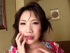 FH-16 Gagging Spunk Cleaners - Asian Deepthroat