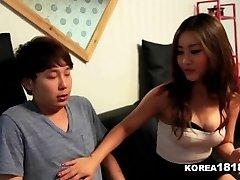 KOREA1818.COM - de la Chance Vierge Baise Chaude coréenne Babe!