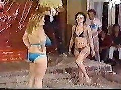 Titanic Toni Kessering Mud-Grappling - 80s old-school!