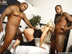 Cindy Sun Is An Interracial Black Cock Slut at Blacks On Blondes!