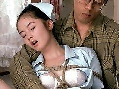Nurse Niki tied fucked and creamed