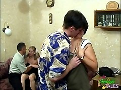 2 couples fucking at home