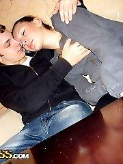 Horny teenage couple having hardcore shagging - PrivateSexTapes.com