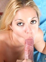 Holie Stevens Rubs Her Clit While Fucked