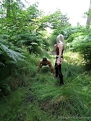 Abused In The Woods