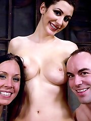 Imagine getting sucked off  by a greedy lil manstick bi-atch while at the same time being bashed into subjugation by the sadistic and beautiful Princess Donna.  Imagine having your ass and throat both violated by these 2 mind-blowing creatures, then used for their mutual pleasure till they come all over you, leaving their dripping vags in your face to neat up.  Imagine no more, check it out inside MeninPain.com.