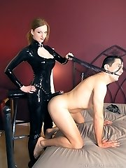 Harnessed For Her Strap On Dildo
