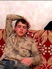 Horny Boy Posing