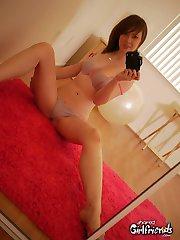 Nude next door girls teasing