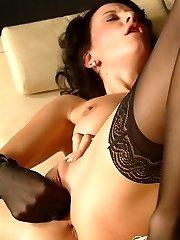Kinky nylongames with nasty Marlena