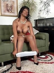 Busty, dusky, mature and hot for frolics in RHT nylons,