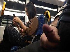 Showcase Asian Girl on Train
