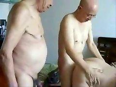 Asian Grandpas and grandma