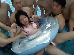 Hump in Public Pool