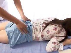 מטורף בחורה יפנית Yuina קוג ' ימה ב החמים ממשש, עיסוי JAV הסצנה