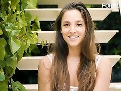 'CrowdBondage - Amirah Adara Bound And Nailed Hungarian Victim Girl In BDSM'