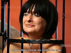 Mature slut blubbering in shame