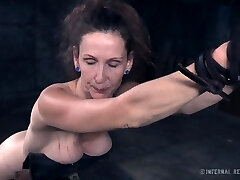 Mature woman Paintoy Emma gets smacked and punished in the dark bedroom