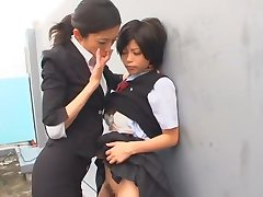 Hottest Japanese whore Kurumi Katase in Exotic College, Fingering JAV movie