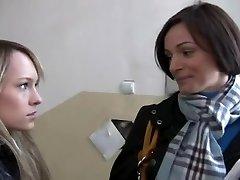 REAL: Making of a Legal Age Teenage Lesbo Porno Starlet - Part1 - Cireman
