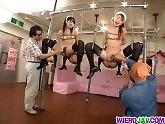 Kinky thraldom for sleazy maids