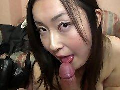 Subtitled Japanese gravure model hopeful POV oral in HD