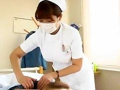 Favoloso modello Giapponese Megu Fujiura in più caldo Infermiera, Grandi Tette video JAV