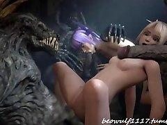 3Dデ弄remix:Cradit Beowolf1117
