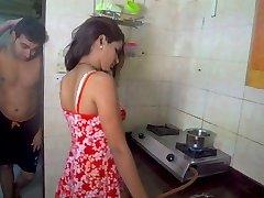 Husband gobbling wifey