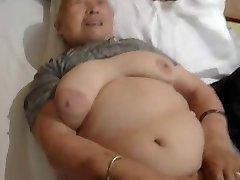 80yr elder Japanese Granny Still Loves to Pummel (Uncensored)