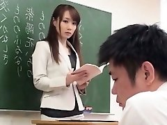 Cute Japanese Tramp Tearing Up