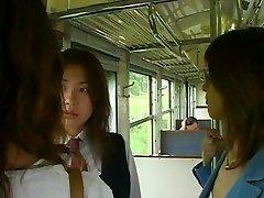 Najlepšie 3 Japonské Dievčatá Jazyk Bozkávanie Sex Scene
