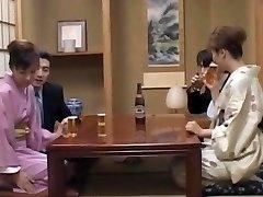 Cougar in heats, Mio Okazaki, enjoys a wild poke