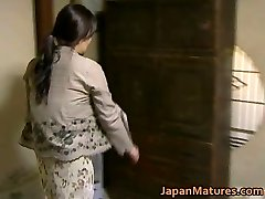 Japanese MILF has crazy orgy free jav